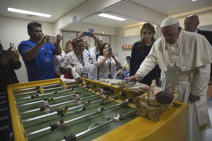 Au Mexique, un accueil chaleureux pour le pape François