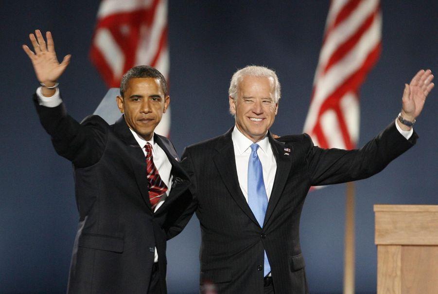 Le soir de la première élection d'Obama en novembre 2008