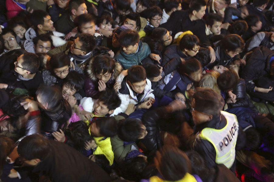 Scène d'horreur à Shanghai