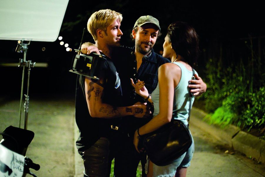 Sur le tournage de «The Place Beyond The Pines», 2011