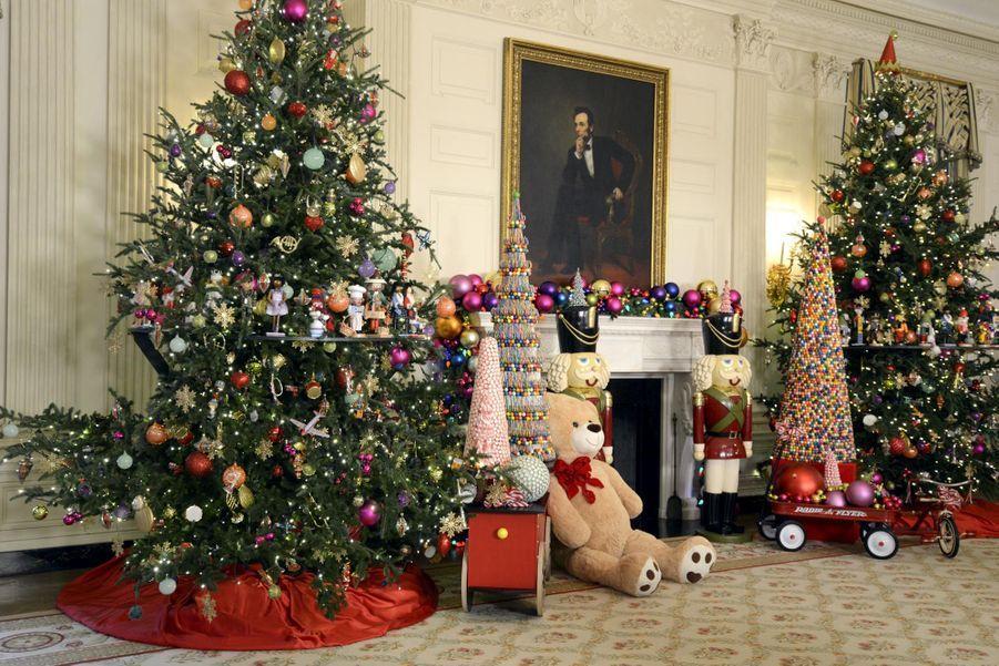 C'est déjà Noël à la Maison Blanche