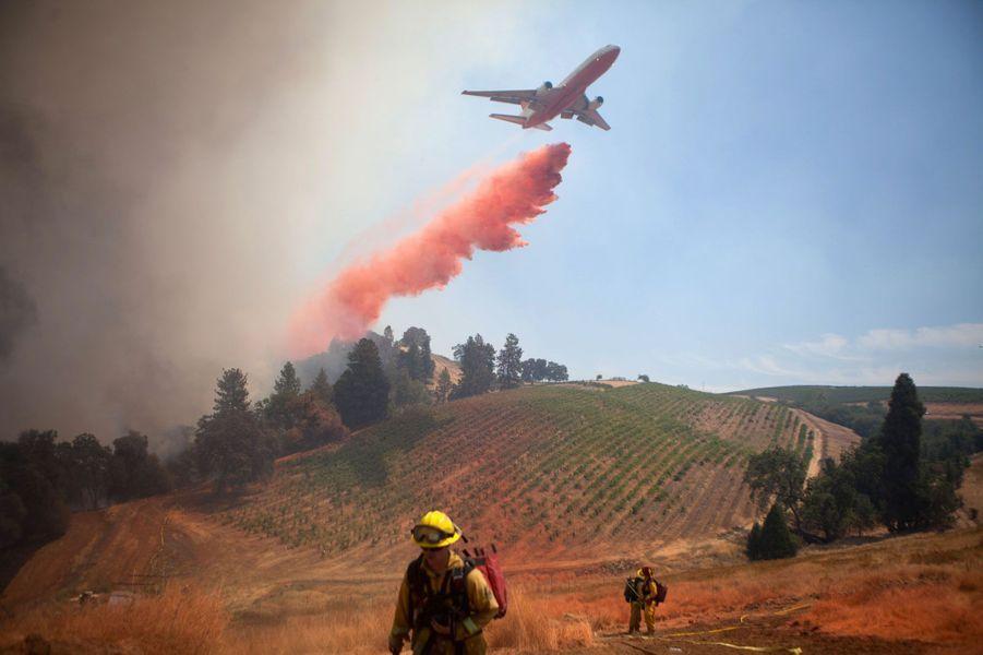 Californie : La bataille du feu