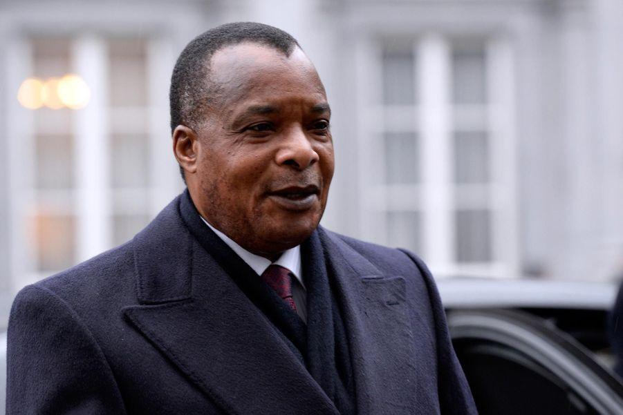Denis Sassou-Nguesso (président du Congo depuis 1997)