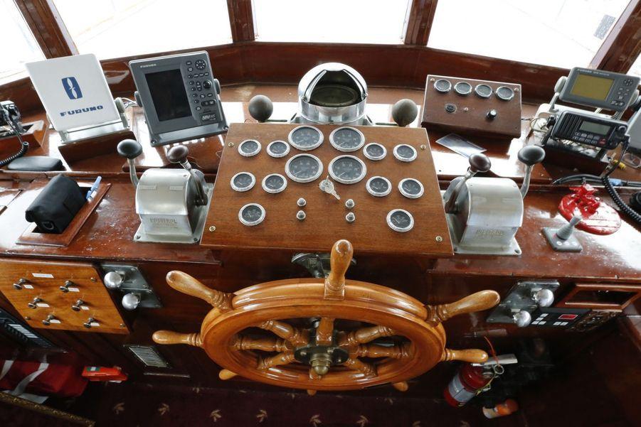 Dans le mythique yacht de JFK