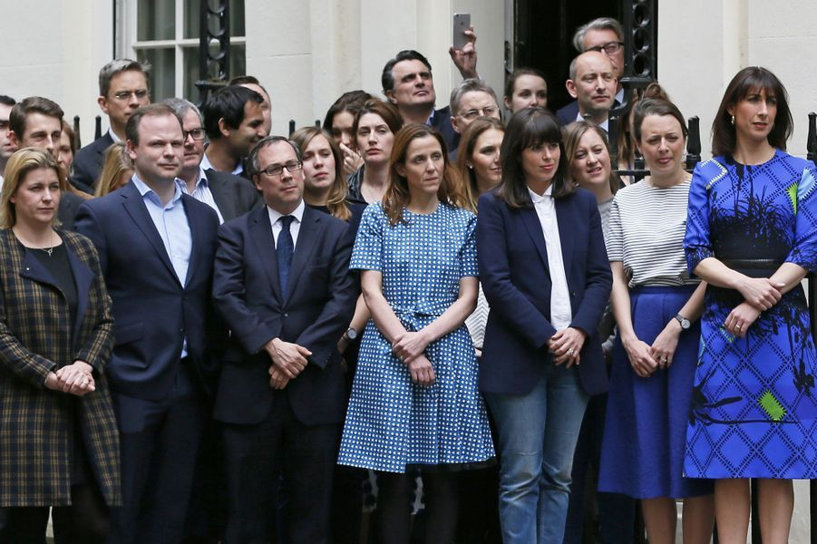 Retour au 10, Downing Street pour David Cameron