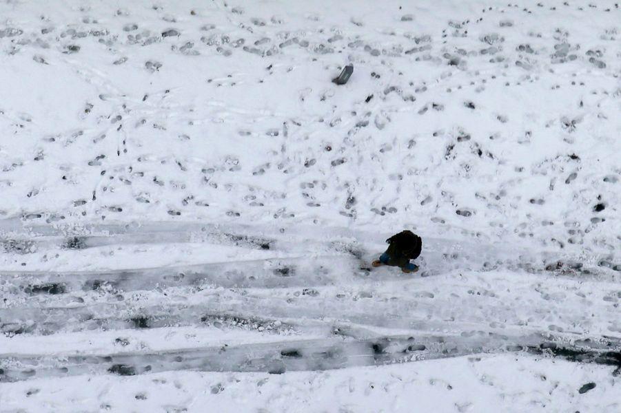 Dramatique tempête de neige au Japon