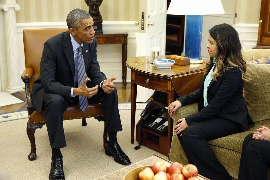 Contre la psychose, le beau geste d'Obama