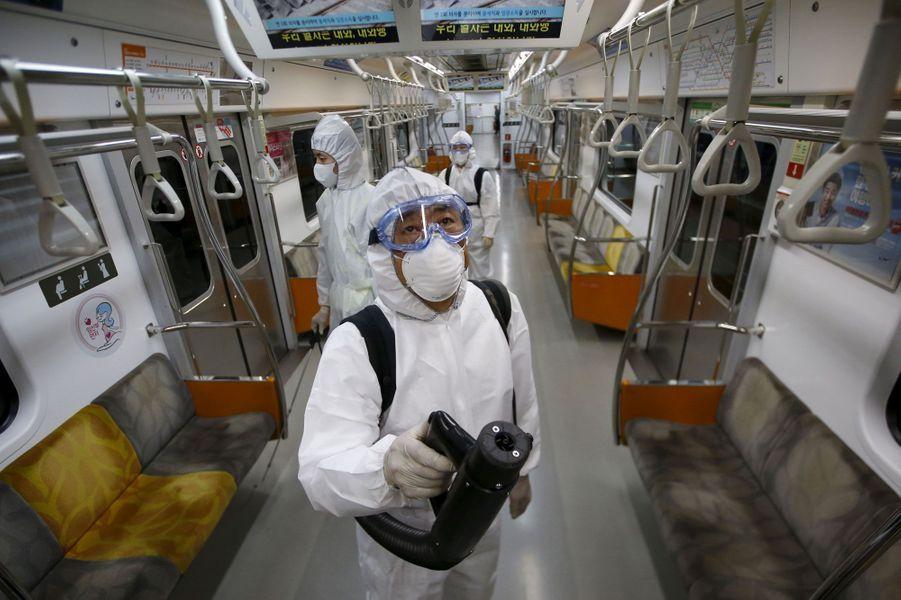 En Corée du Sud, la peur du Coronavirus
