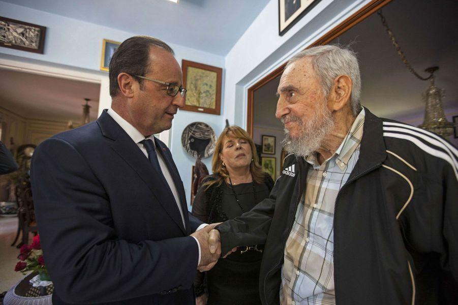 Avec François Hollande lundi
