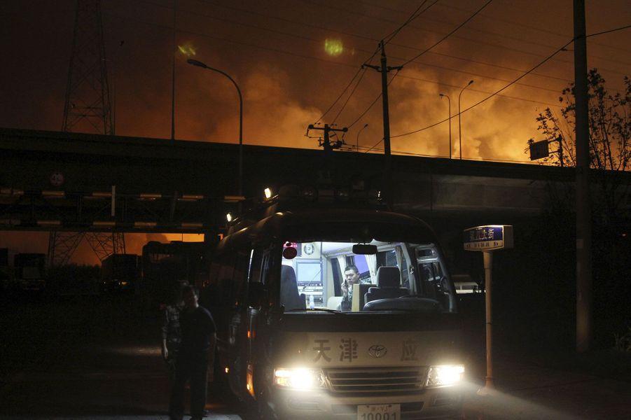 Explosions tragiques en Chine