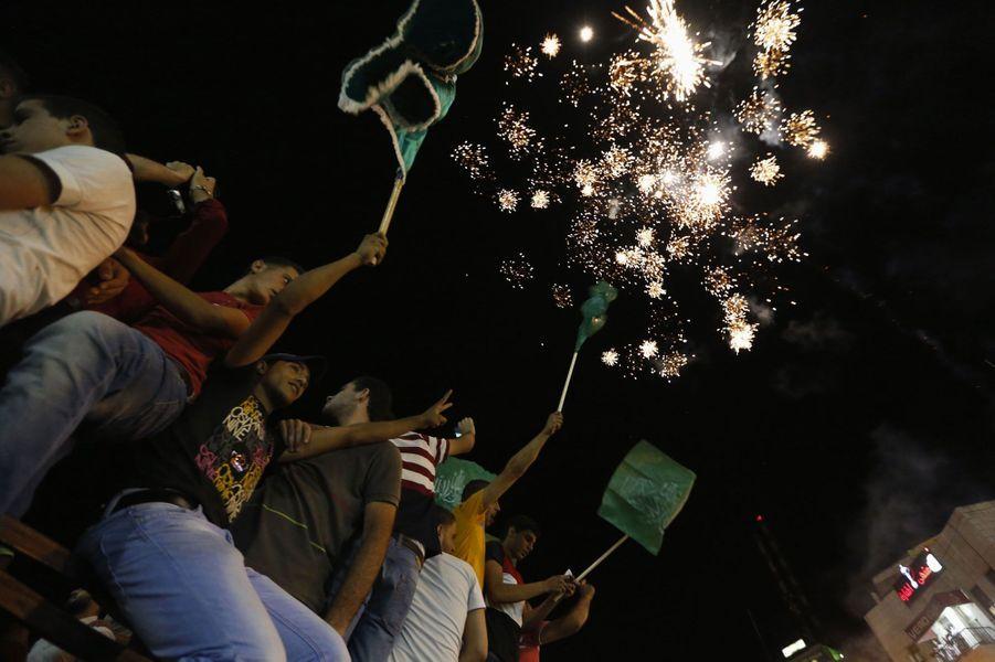 Gaza fête le cessez-le-feu
