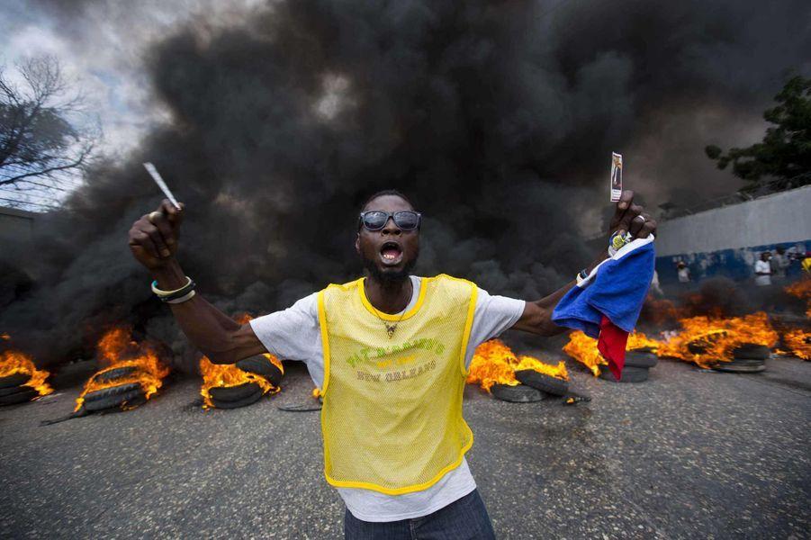 Haïti à feu et à sang