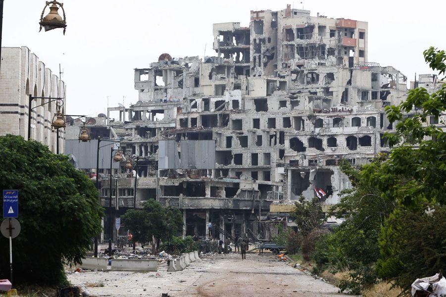 Homs, désertée