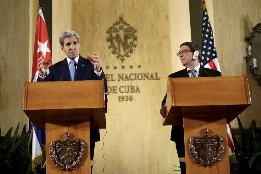 Visite historique de John Kerry à Cuba
