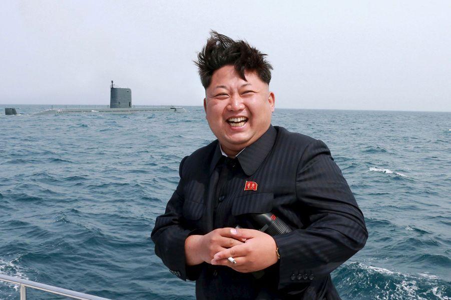 Kim Jong-un, le leader nord-coréen, à Pyongyang