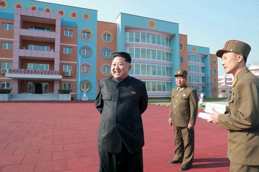Kim Jong-un retourne à la crèche