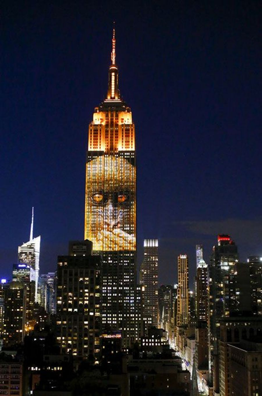 L'Empire State Building s'illumine pour éveiller les consciences