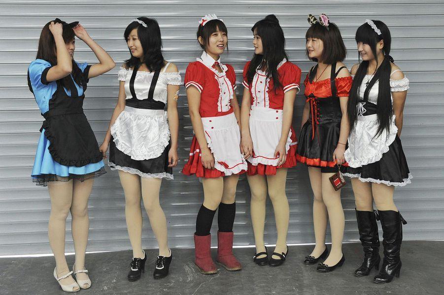 Des jeunes femmes chinoises en 2010