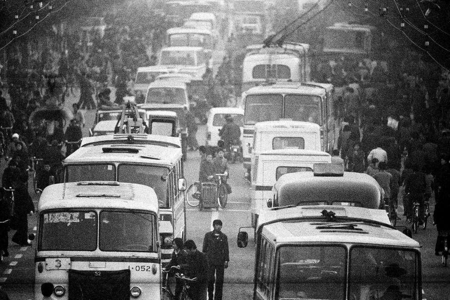 Une route de Pékin en 1984