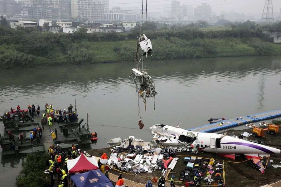 L'appareil transportait 58 passagers