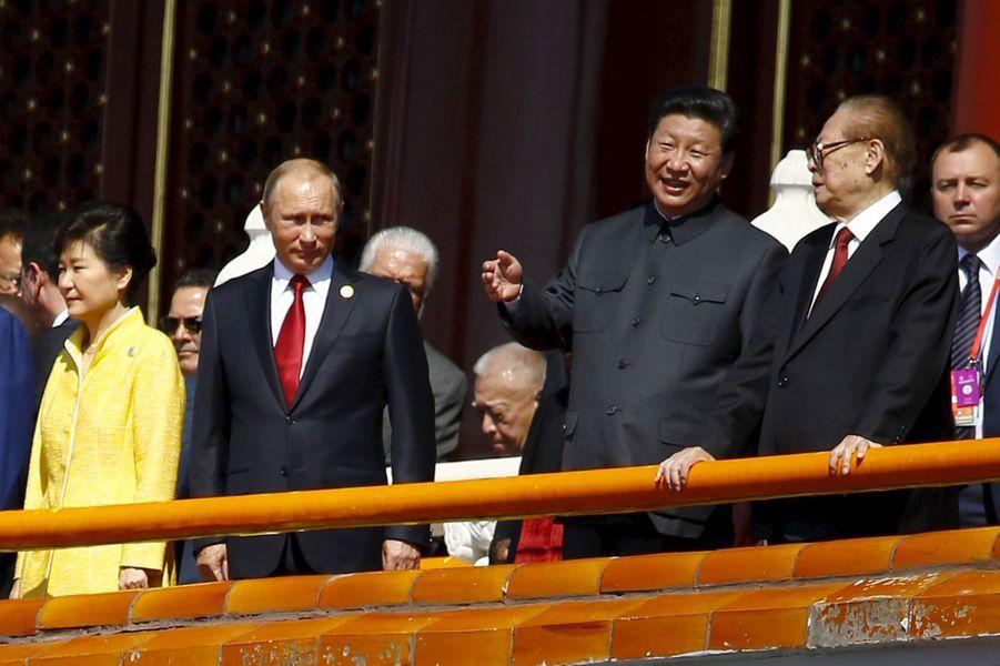 La Chine fête la fin de la Seconde Guerre mondiale