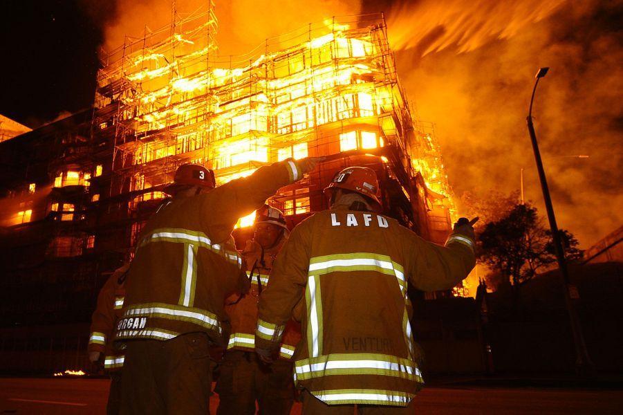 La Cité des Anges dans l'enfer des flammes