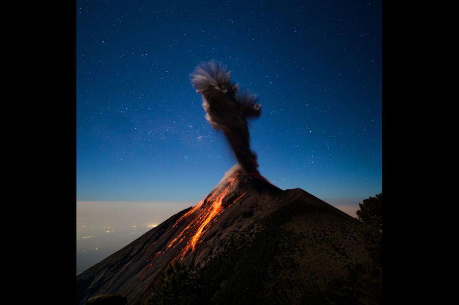 La colère du Volcan de Fuego, au Guatemala