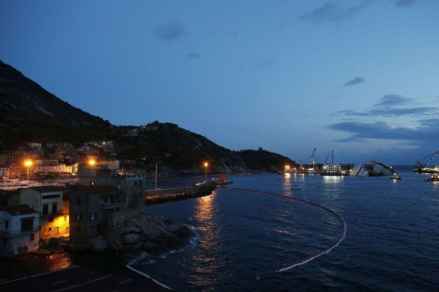 La dernière nuit du Costa Concordia