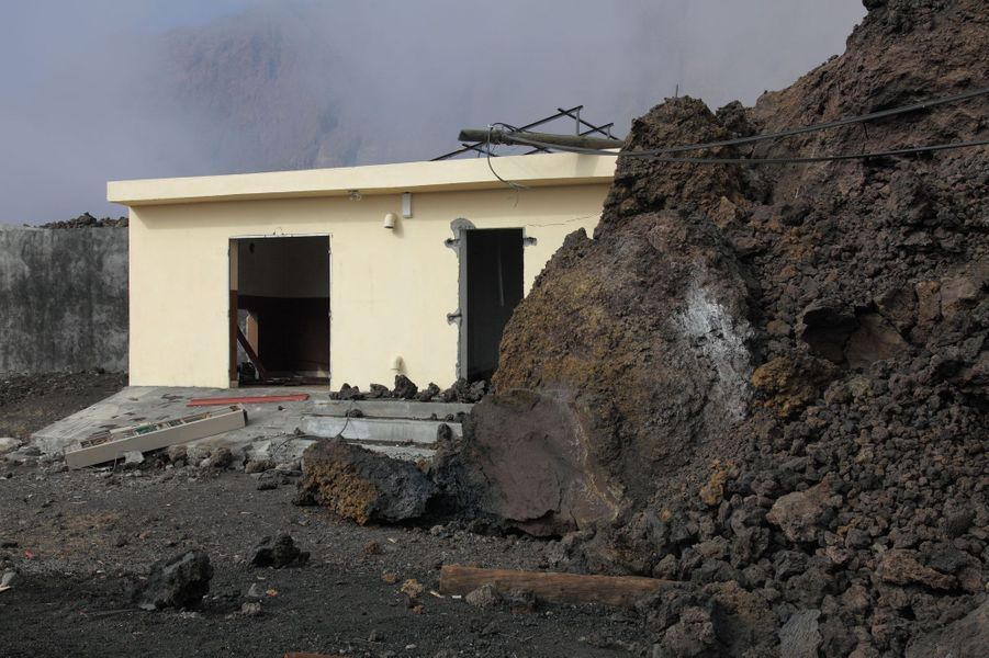 La lave dévastatrice du Pico do Fogo