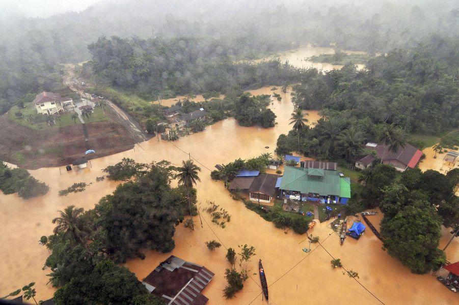 La Malaisie touchée par des inondations sans précédent