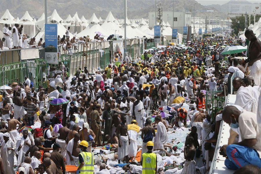 Mortelle bousculade pendant le pèlerinage près de La Mecque