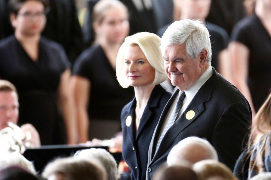 Newt Gingrich et sa femme Callista