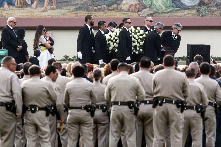 Les funérailles de Yvette Velasco