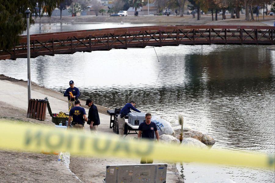 Le FBI poursuit son enquête dans un lac de San Bernardino