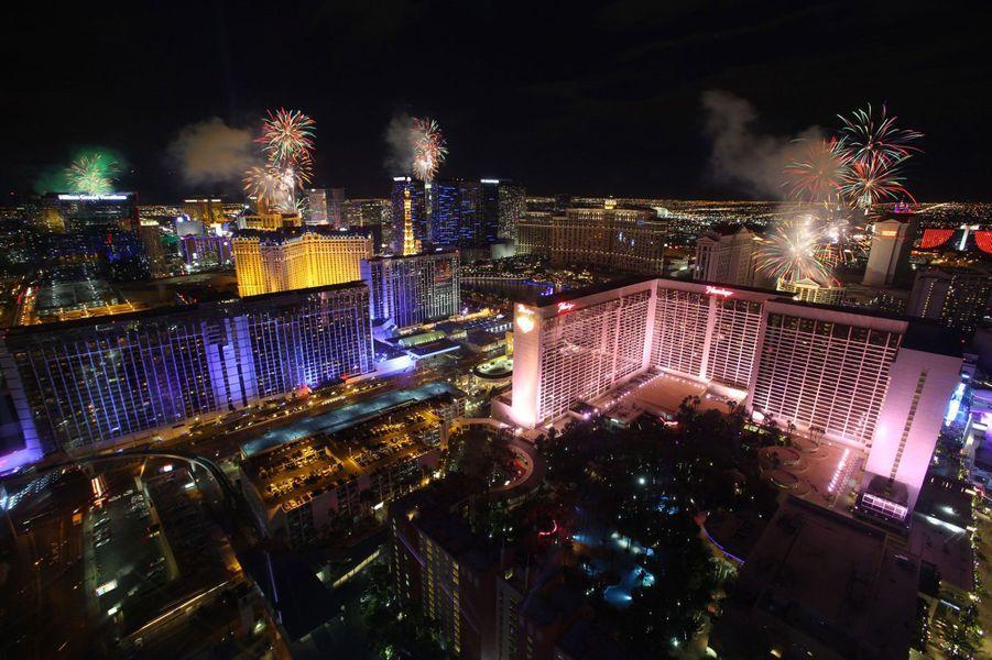 A Las Vegas, aux Etats-Unis