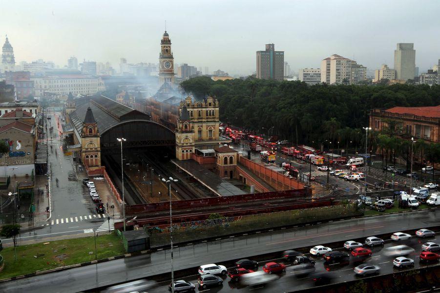 Le Musée de la Langue portugaise détruit par les flammes