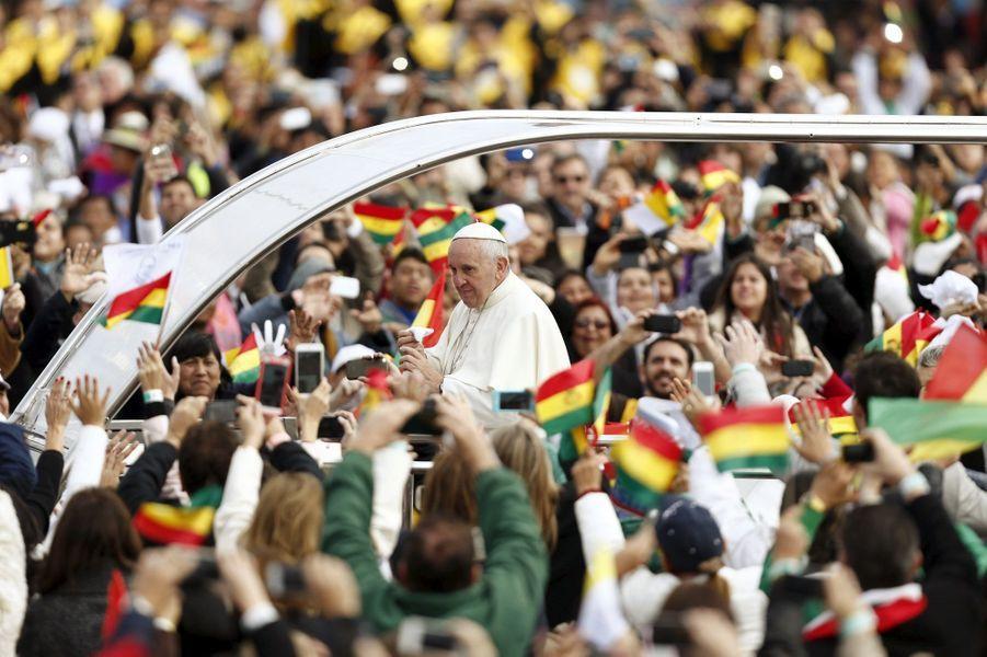 Le pape François demande pardon aux peuples autochtones