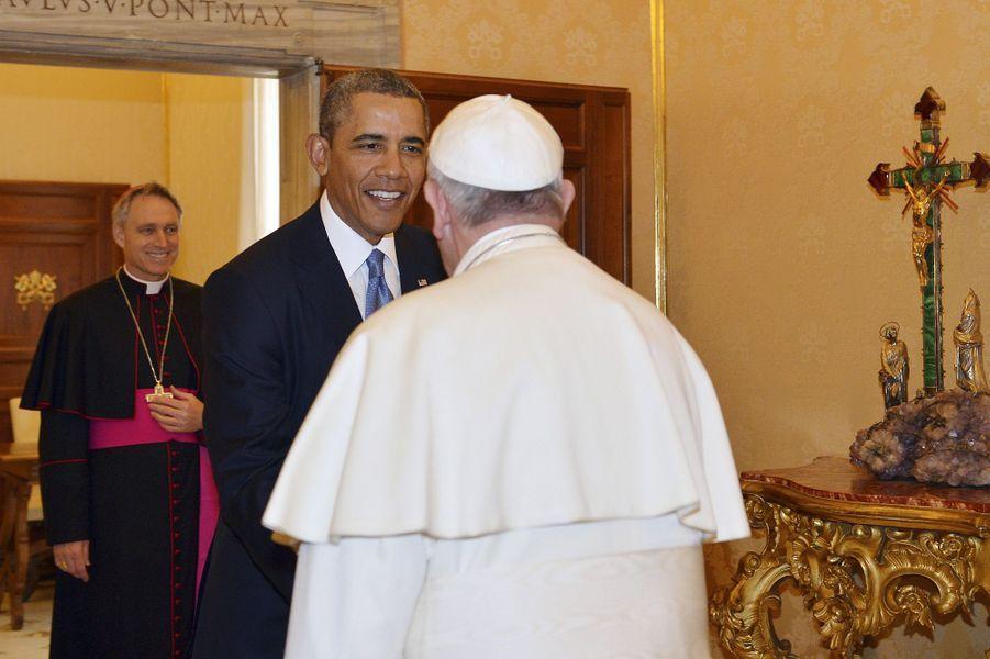 Le pape François reçoit Barack Obama