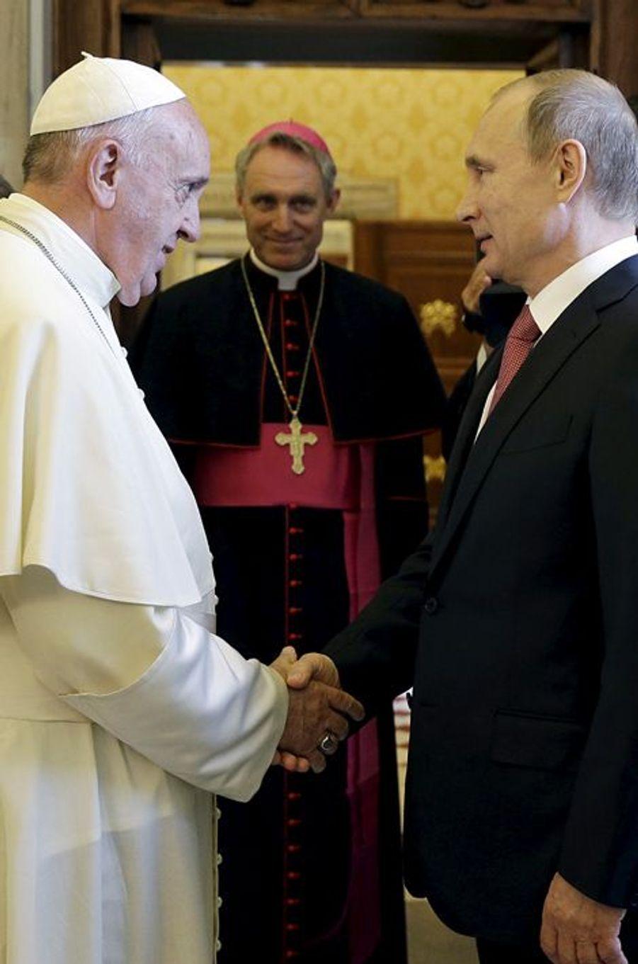 Le pape François a reçu le président russe Vladimir Poutine