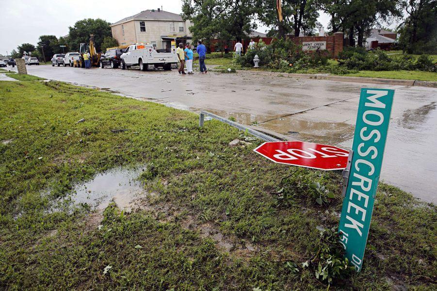 Le Texas frappé par des tornades