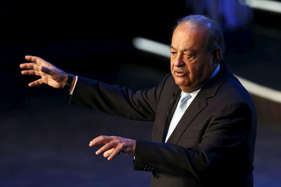 4ème: Carlos Slim: 50 milliards de dollars