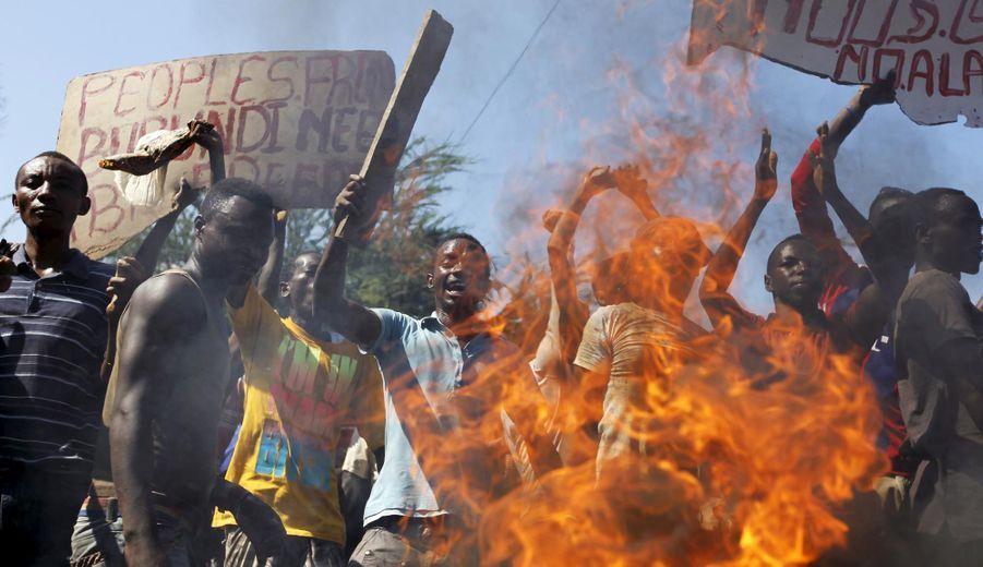 """Les Burundais disent """"non"""" au président"""