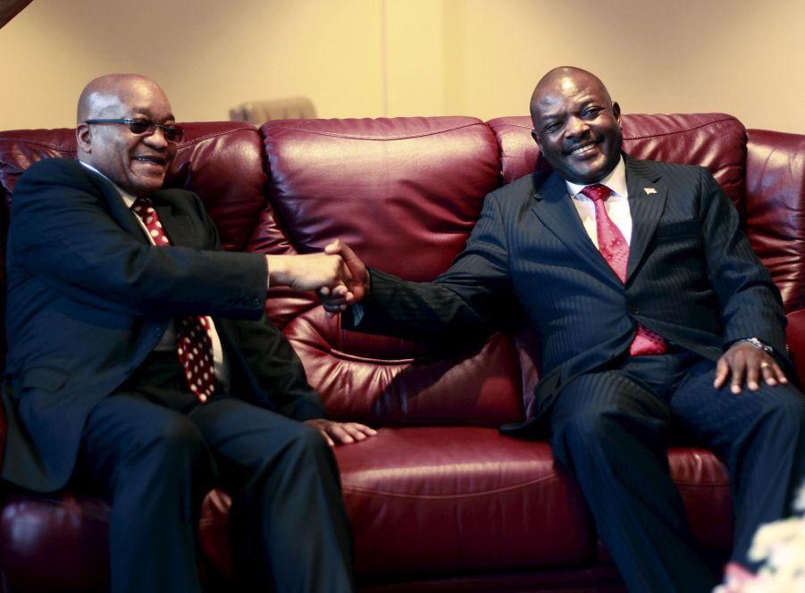 Jacob Zuma et Pierre Nkurunziza