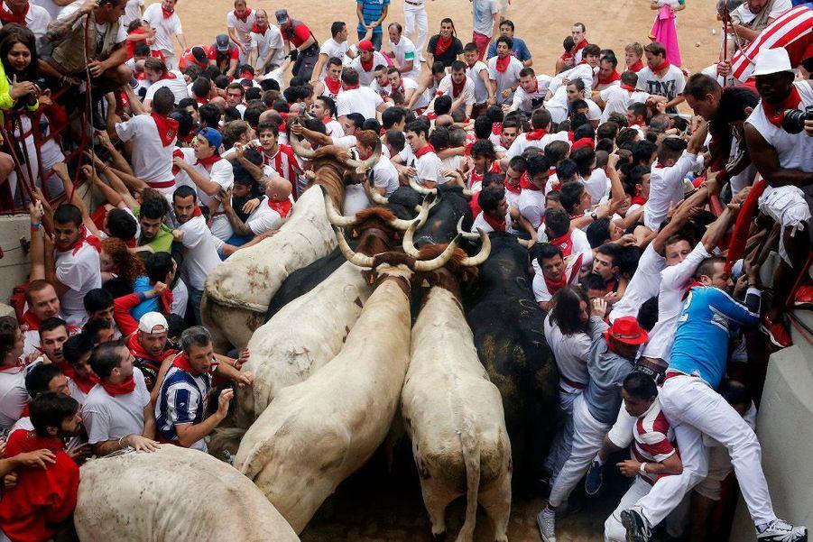 Les Fêtes de San Fermín ensanglantées