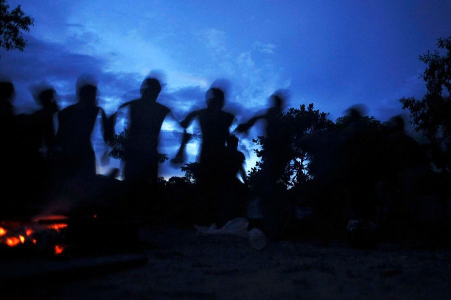 Danse dans la nuit