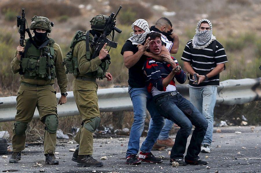 A Ramallah, certains officiers israéliens étaient infiltrés parmi les manifestants palestiniens