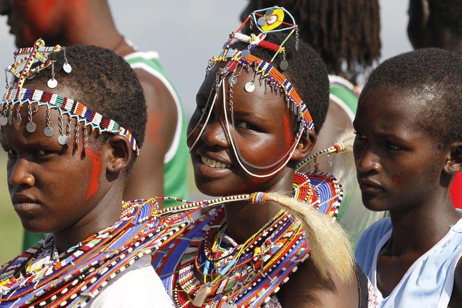 "Les ""jeux olympiques"" masaï ont eu lieu samedi au pied du Kilimandjaro"