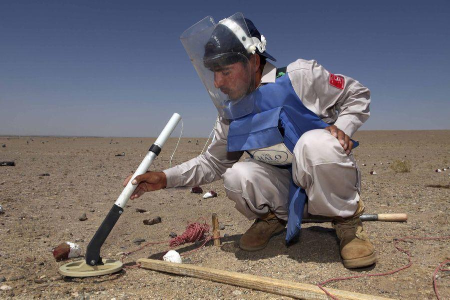 Les mines antipersonnel ravagent encore l'Afghanistan
