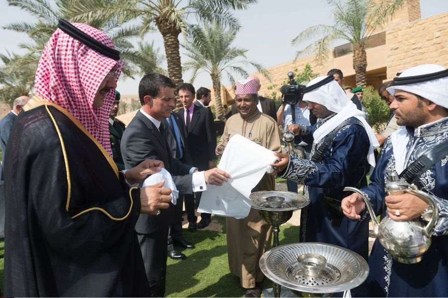 Manuel Valls. Voyage fructueux en Arabie saoudite