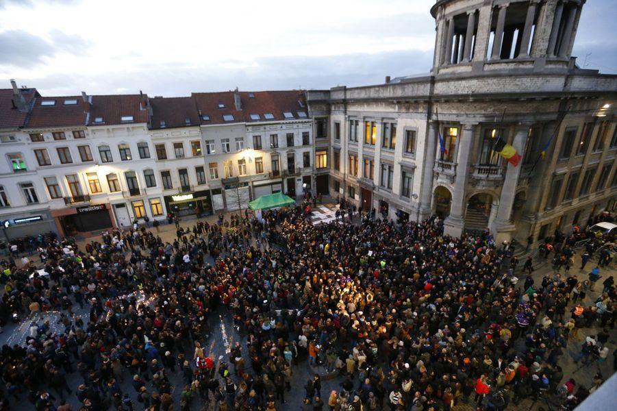 Molenbeek pleure les morts de Paris